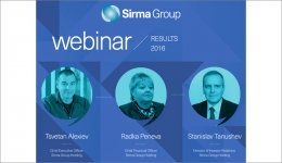 Webinar for presenting the results from the activity of the Sirma Group companies during 2016